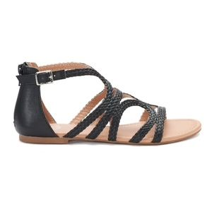 SO Tigershark Women's Sandals, Black - New in BoxNWT for sale